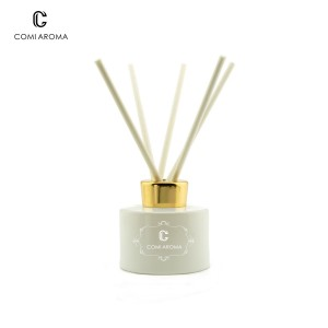 Hot sale Factory Empty Skin Care Container - 170ml Round Shape Diffuser Aroma Glass Bottles – Comi