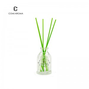 OEM Decorative Reed Diffuser Sticks Factory - 80ml Fragrance Bottle Aroma Reed Diffuser Glass Bottle with Stopper – Comi