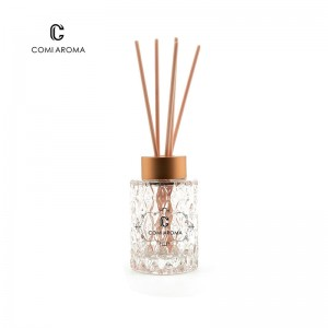 120ml Clear Empty Aroma Reed  Diffuser Glass Bottles with Screw cap