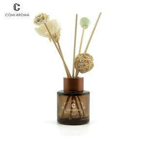 50ml Round Aromatherapy Diffuser Glass Bottle
