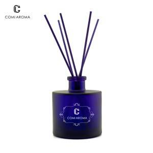 Factory wholesale Luxury Scent Diffuser - 230ml Round Shape Aroma Reed Diffuser Glass Bottle – Comi