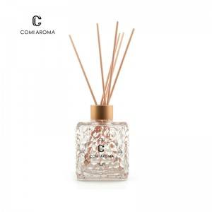 200ml Unique Shape Colored Aroma Glass Reed Diffuser Bottle