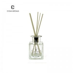 Wholesale Beauty Product Packaging Manufacturers - 150ml Square Shape Diffuser Aroma Glass Bottle for Home Decoration with screw cap – Comi