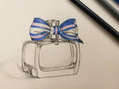 What is the production process of  perfume glass packaging bottle ?