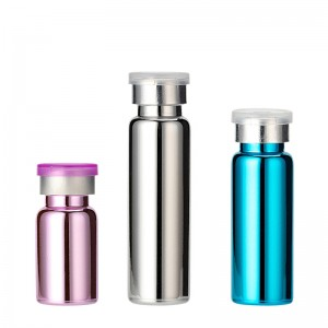 One of Hottest for Glass Bottle Manufacturers - UV Painting Small Glass Vials With Lids – Comi