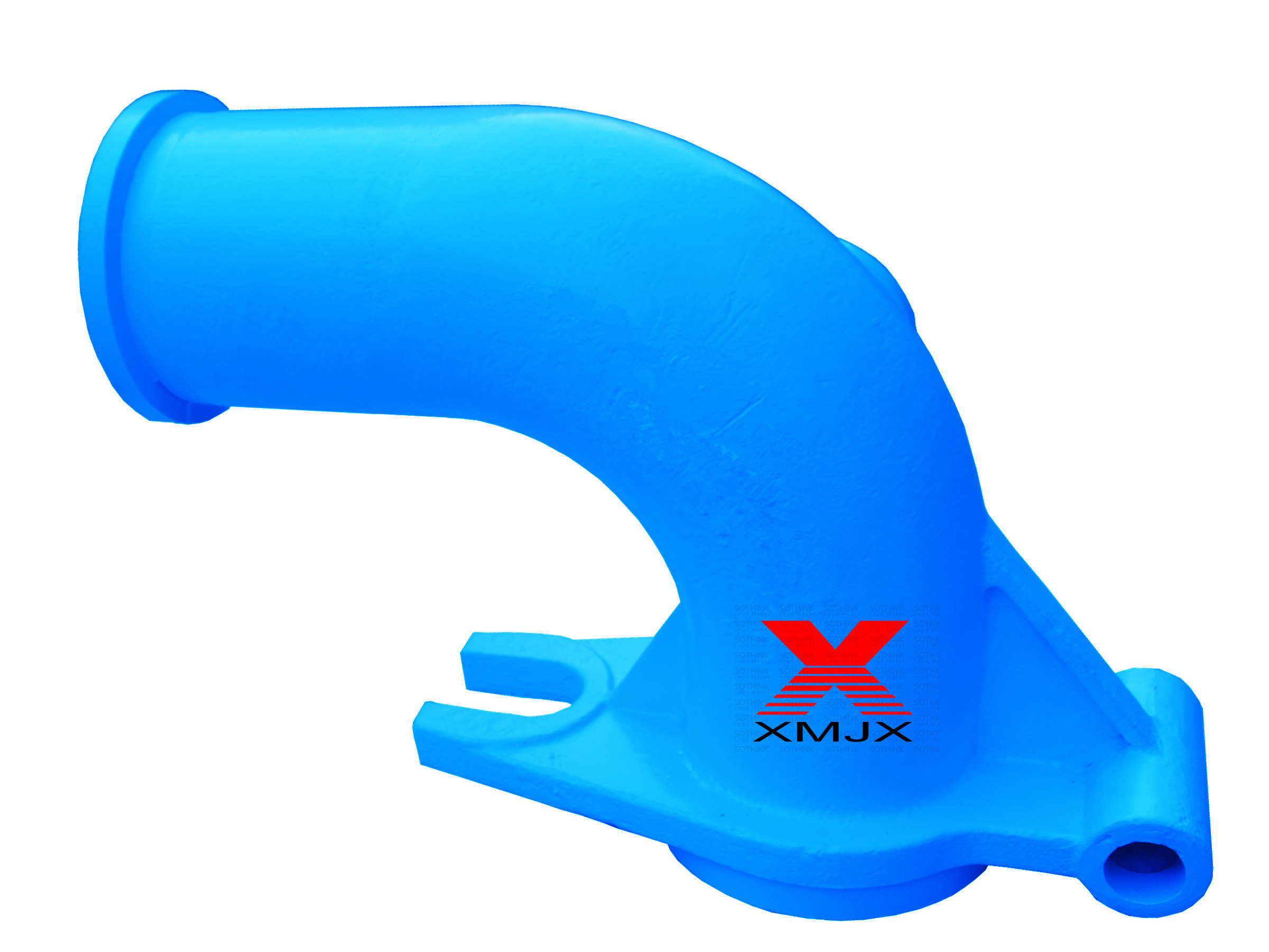 Renewable Design for An Hose Ends - Competitive Price Pump Parts Zoom Hinged Elbow From Factory – Ximai