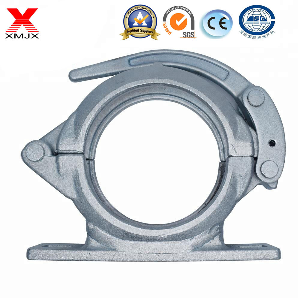 Concrete Pump Pipe Fitttings Clamp Coupling Adjustable