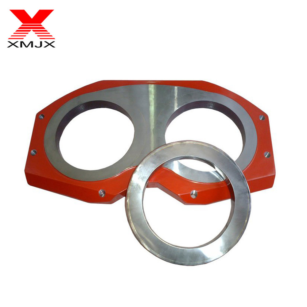 Manufacturer of 117 pipe - Construction Machinery Parts Concrete Pump Wear Plate and Cutting Ring – Ximai