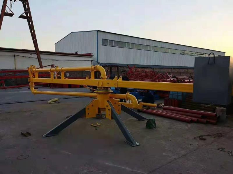 Safety Tool Concrete Boom Placer in Covid19 Site