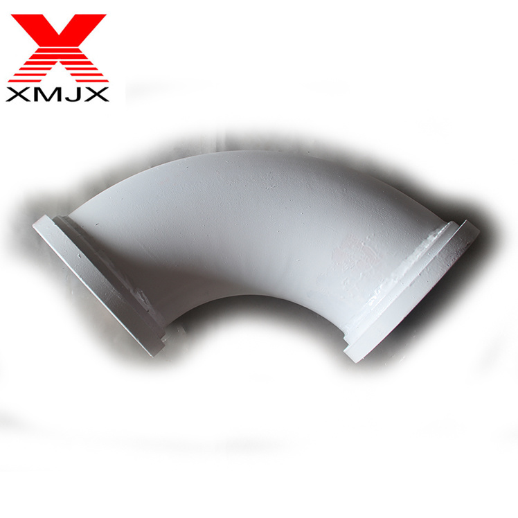 Factory wholesale Concrete Pump Pipe Elbow - Carbon Steel Butt Weld Steel Elbow Pipe Fitting Concrete Pump Truck Pipe Center Forged Elbow – Ximai