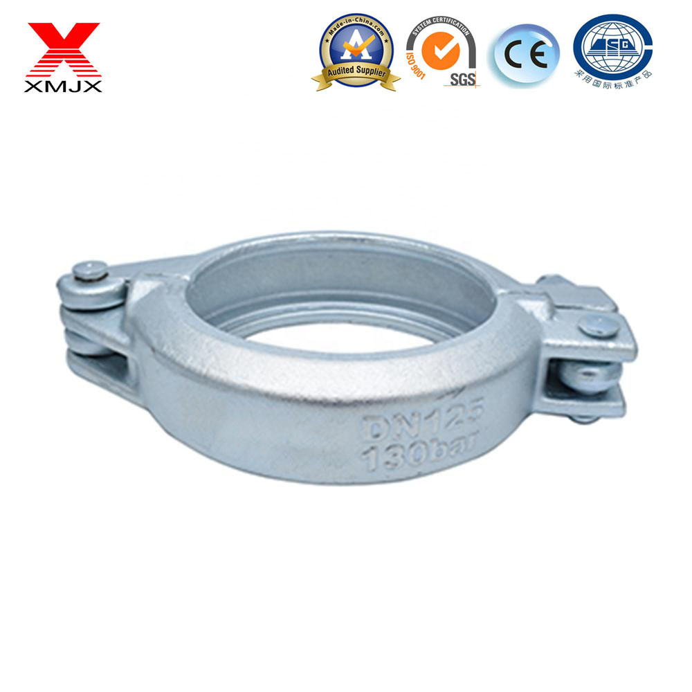 Concrete Pump Pipe Accessories Clamp Coupling Adjustable