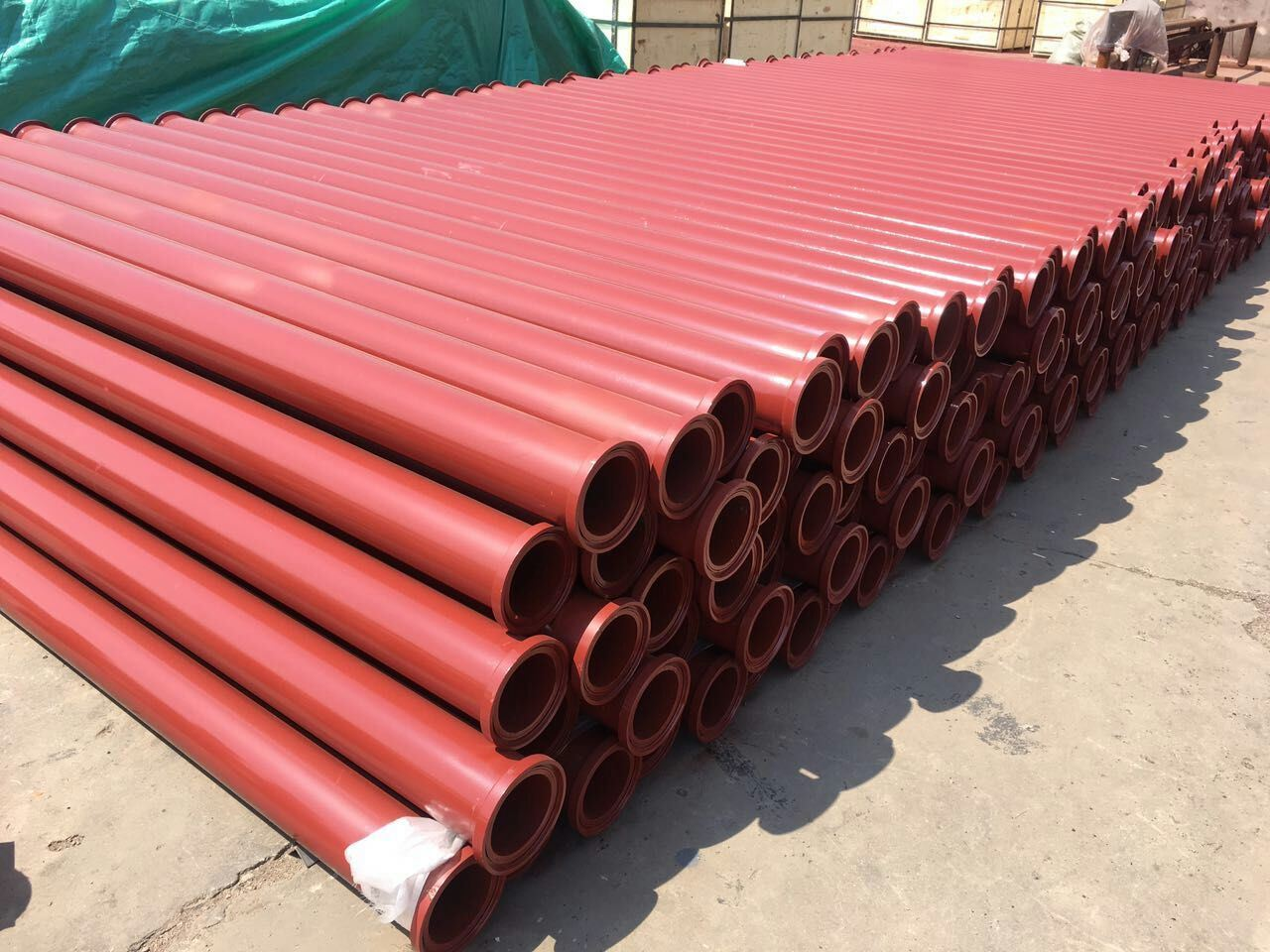 Concrete Pump Straight Pipe, Seamless Steel Wear Resistant Pipe