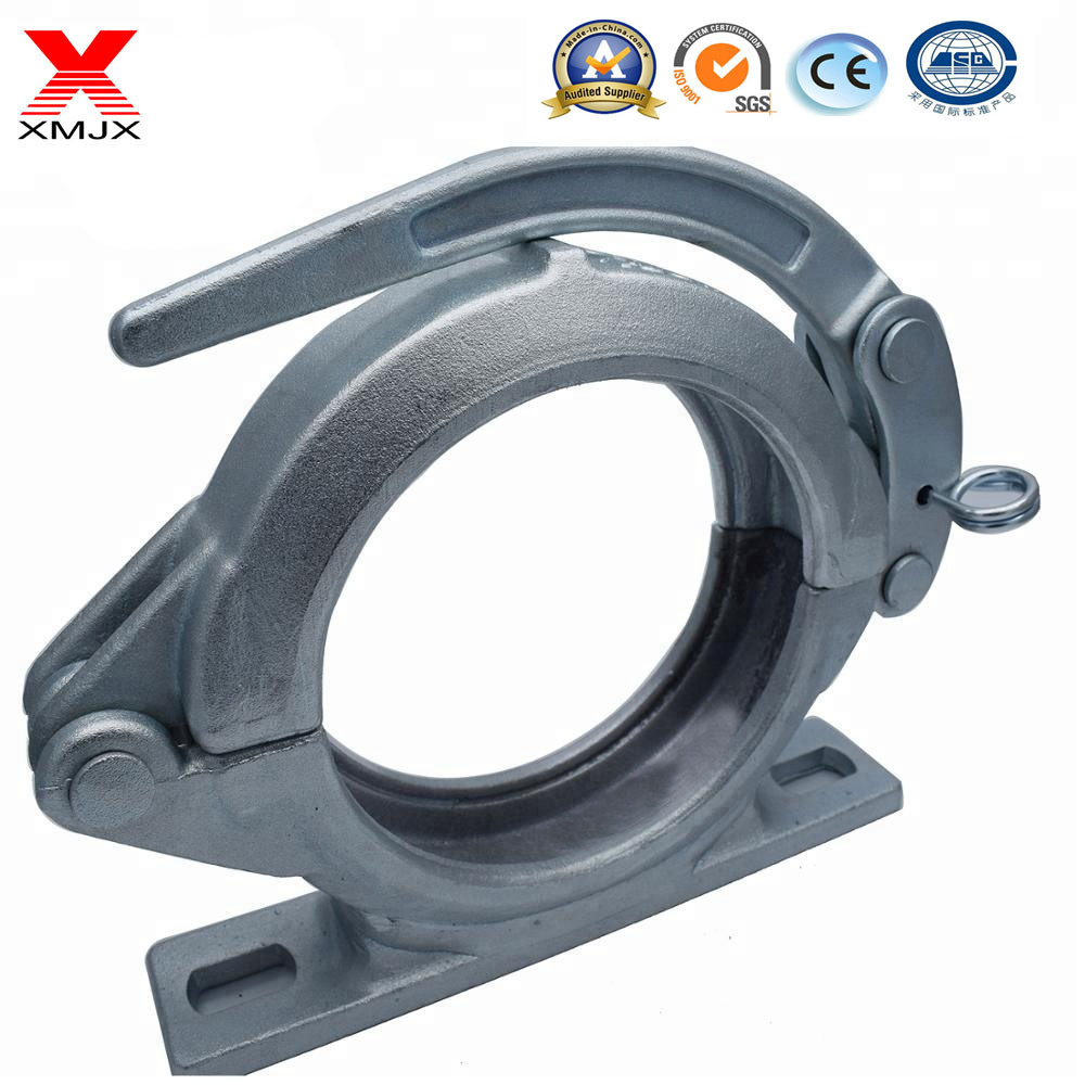 18 Years Factory Hose End Fitting - Concrete Hose Clamp Pipe Clamps Concrete Pump Pipe Coupling – Ximai
