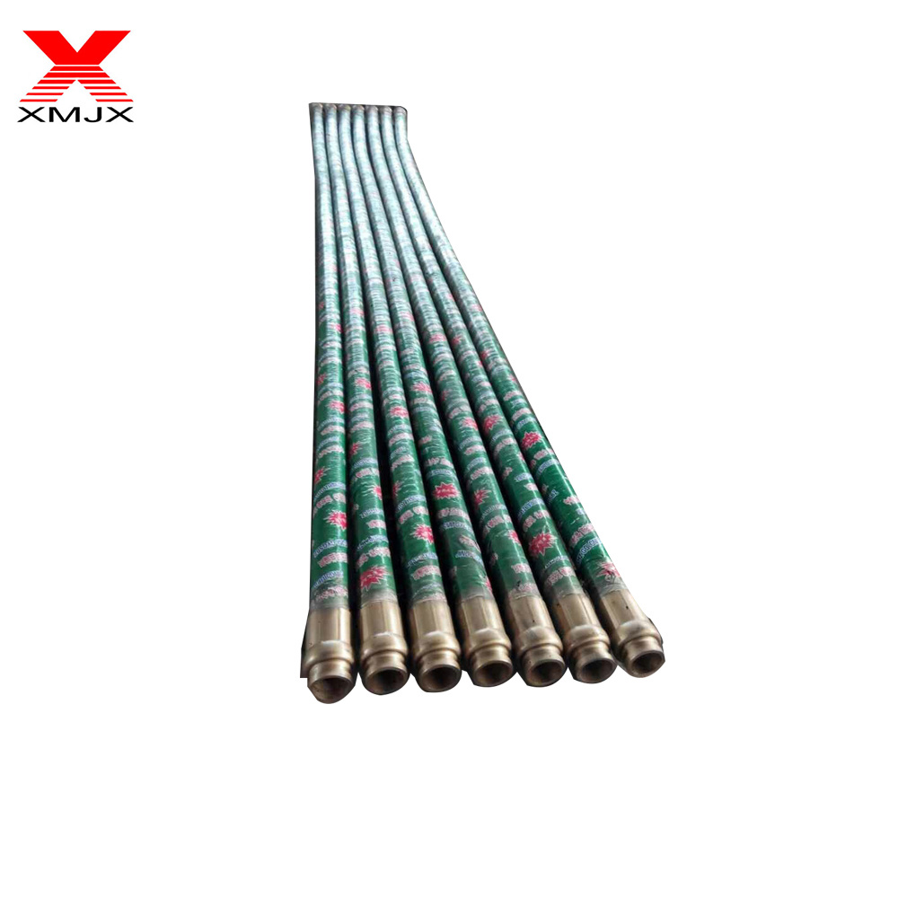 "Well-designed DN117 pipe - Concrete Pump DN75 3"" 5m One End or Two Ends Fabric Braid Hose – Ximai"