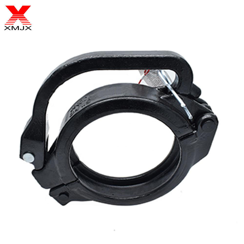 Manufacturing Companies for 112 elbow - Concrete Pump Connect Pipe Tools Clamp – Ximai