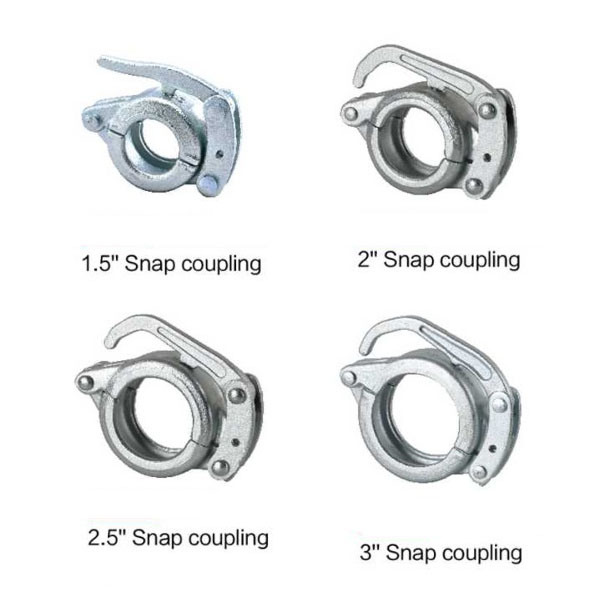 Hot Selling for Wire Reinforced Rubber Hose - Concrete Pump Parts Putzmeister Coupling Series Snap Coupling – Ximai