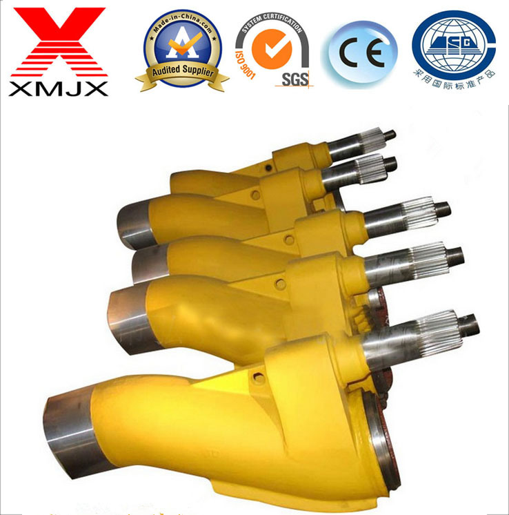 OEM China Cutting ring - S-Tube -S-Valve for Sany/Putzmeister/Zoomlion/Kyokuto Pump – Ximai