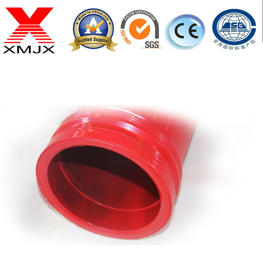Best Price for 117 twin wall pipe - Concrete Pump Seamless Hardened Pipe for Schwing /Pm/Sany – Ximai