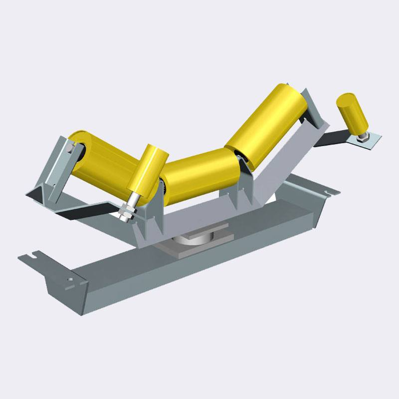 New Fashion Design for Excavator Idler - Self Aligning Troughing Carrying Idler – Joyroll