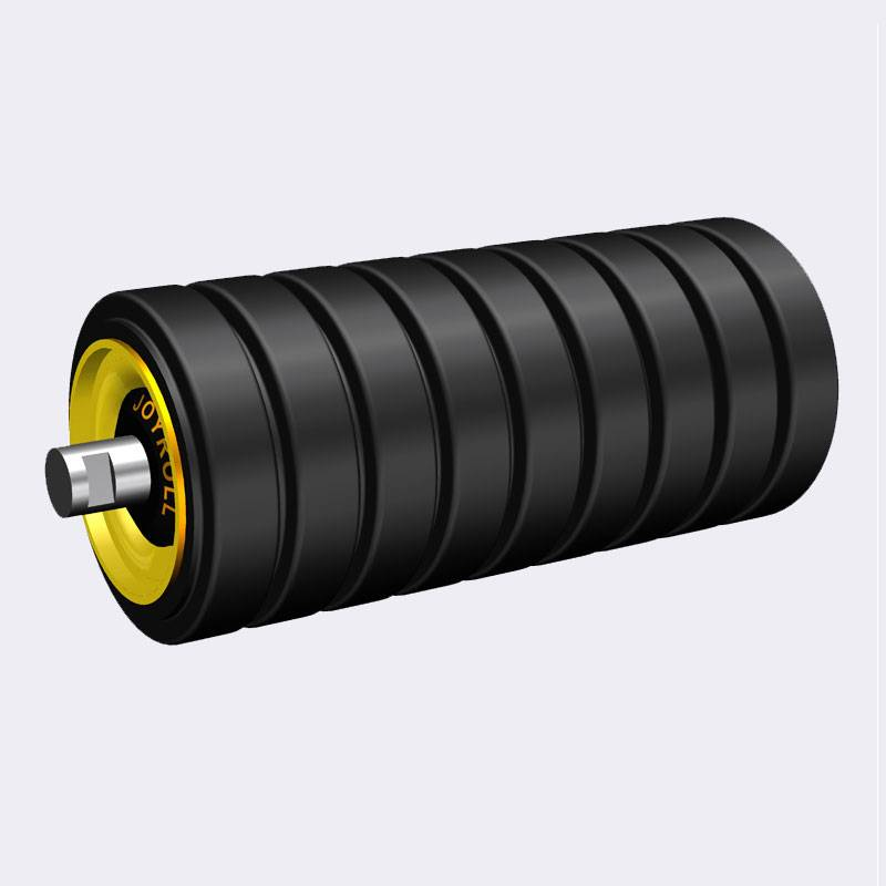 PriceList for Conveyor Rollers Suppliers - Rubber Impact Roller – Joyroll