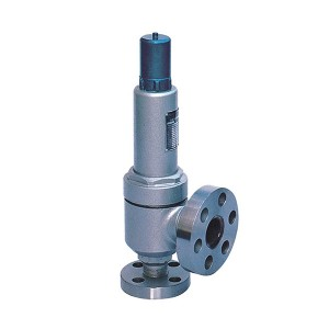 Closed spring loaded low lift type high pressure safety valve