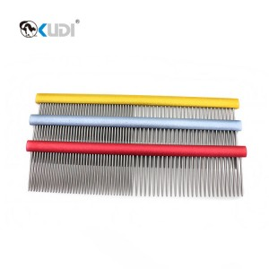 Reasonable price Dog Rake Comb - Pet Groomer Finishing Comb – Kudi