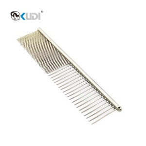 Wholesale Price Pet Steel Comb - Stainless Steel Dog Comb – Kudi