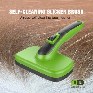 Self Cleaning Slicker Brush For Dogs