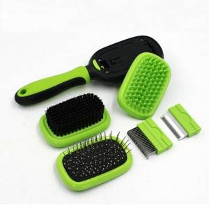 Double Sided Pet Grooming Brush Set