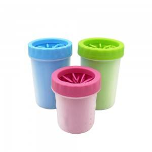 Dog Foot Paw Cleaner Cup