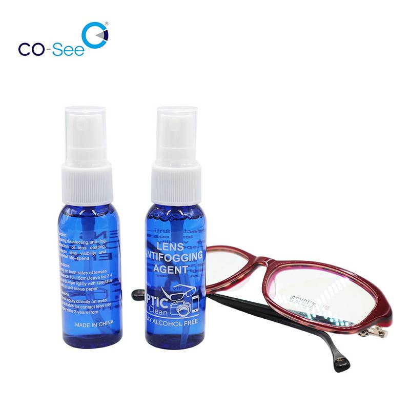 Wholesale Price Reusable Anti-Fog Lens Wipes - CoSee Anti Fog Glasses Lens Cleaner Liquid Solution Defogger Spray for Eyeglasses – Co-See