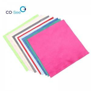 Low price for Glasses Wipe Cloth - Durable Multi Colors Best Microfiber Lens Eyeglasses Cleaning Cloth – Co-See
