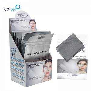 Reusable Wiping Microfiber Wet Anti Fog Optical...