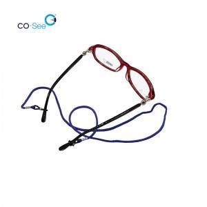 OEM/ODM Factory Eyeglass Lanyard - High Quality Mixed Colors Nylon Adjustable Reading Glasses Cord Neck Sunglasses Retainer Strap – Co-See