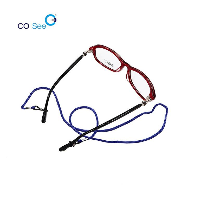 Factory source Neoprene Eyeglasses String - High Quality Mixed Colors Nylon Adjustable Reading Glasses Cord Neck Sunglasses Retainer Strap – Co-See