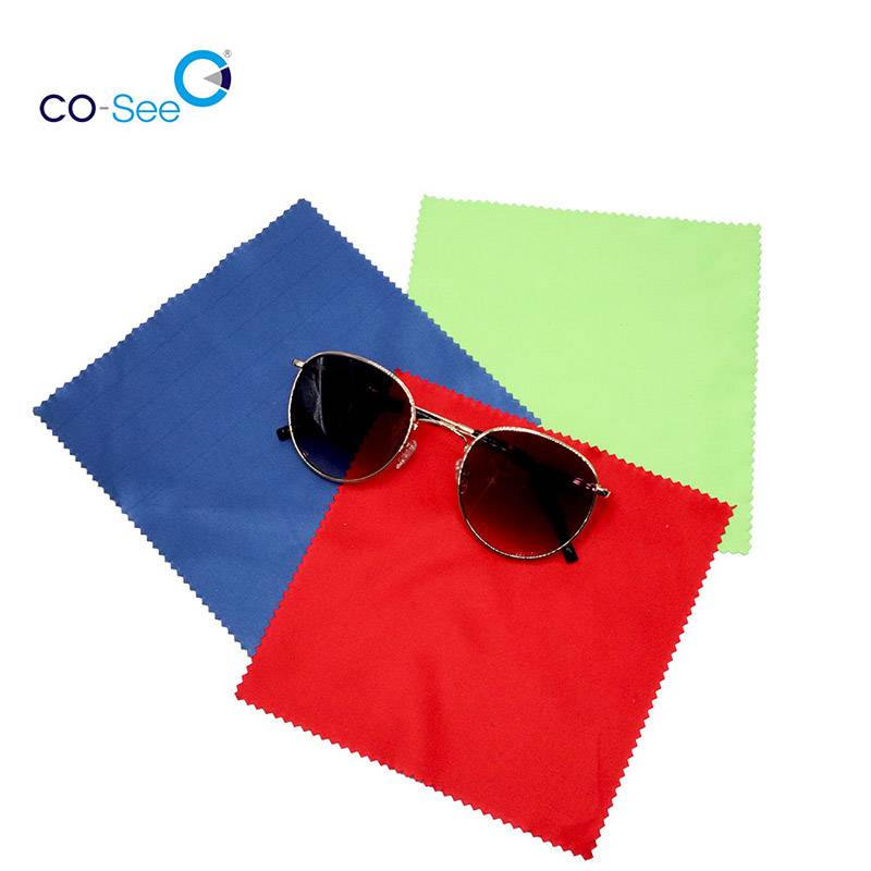 factory low price Design Glasses Set - Durable Multi Colors Best Microfiber Lens Eyeglasses Cleaning Cloth – Co-See