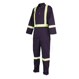 18 Years Factory White Coverall - Coverall-CQ1003 – Congqia