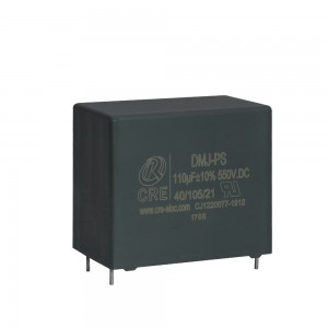 PCB mounted DC link film capacitor designed for PV inverter