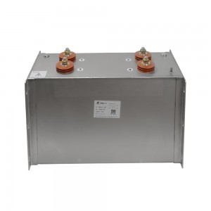 Custom-made dry capacitor solution for rail traction 3000VDC