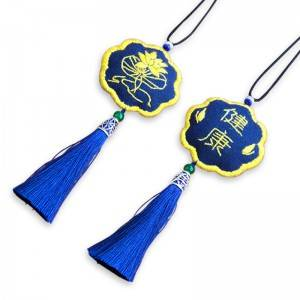 Sachet embroidery DIY handmade self embroidered material package talisman couple purse amulet gifts No.512565