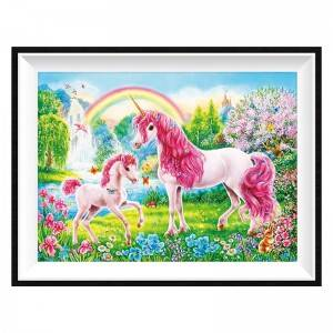 Wholesale Art Diamond Painting for Home Decoration GIFTS Magic Unicorn DIY Full Diamond Painting Sets Item No. 12249