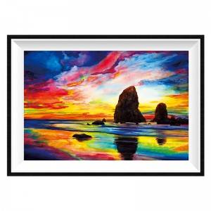 5D Diamond Painting Kit, Full Drill Arts Craft Canvas Supply for Home Wall Decor Adults and Kids Item No.12312