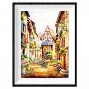 Good Quality Factory Direct Selling Natural Scenery Design Diy Diamond Painting By Numbers For Home Decor Item No.12323