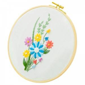 Good quality Stitch Art Kit - Direct Sale Plant Decoration Handmade Sewing Craft DIY Embroidery Starter Kits With Instructions 511173 – Yiwu Embroidery