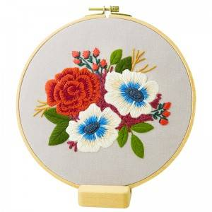 OEM Factory for Joann Fabrics Embroidery - Direct Sale Plant Decoration Handmade Sewing Craft DIY Embroidery Starter Kits With Instructions 511193 – Yiwu Embroidery