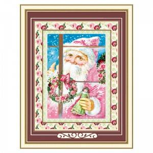 Diamond Painting Diy Full Drill Round Santa Claus 52*67CM Acrylic Paintings Wall Art Decor Item No.12115