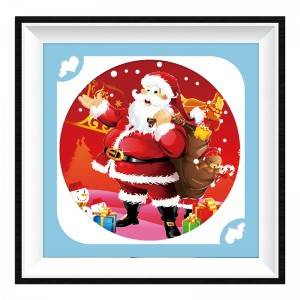 Full Diamond Santa Claus Diamond Painting Kit Home Handmade DIY Decoration Full Round Diamond Painting Item No.12200