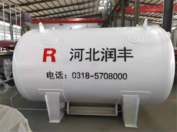 Horizontal storage tank2829
