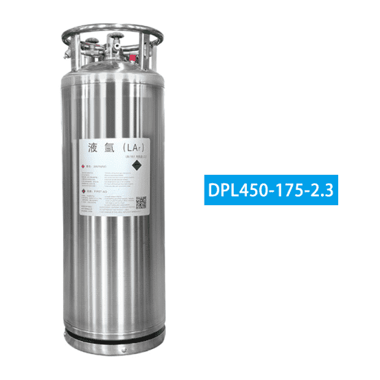 Liquid argon cylinder6526
