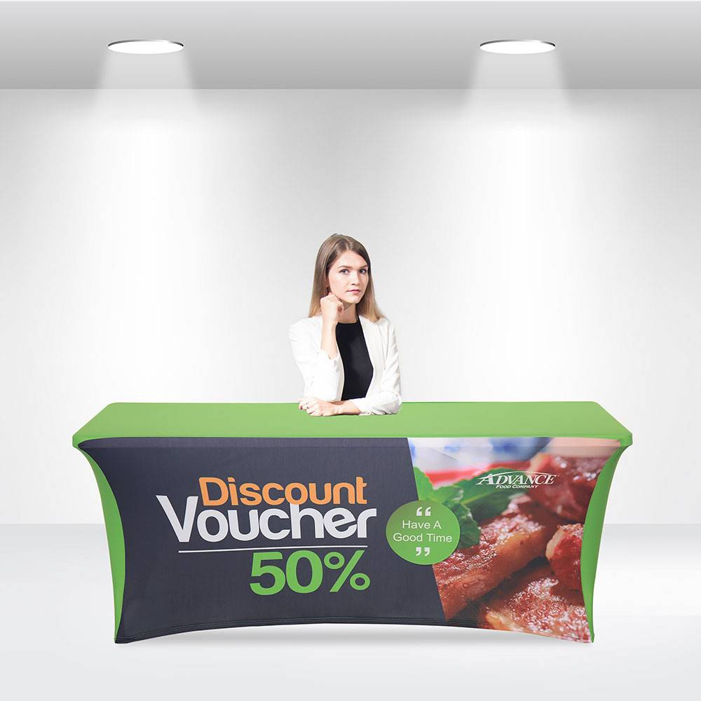 Stretch Table Covers with Open Back Featured Image